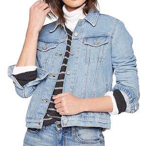 Levi's original trucker jacket color: sun daze